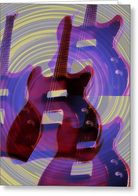 Jet Star Digital Art Greeting Cards - Jet Screamer - Guild Jet Star Greeting Card by Bill Cannon