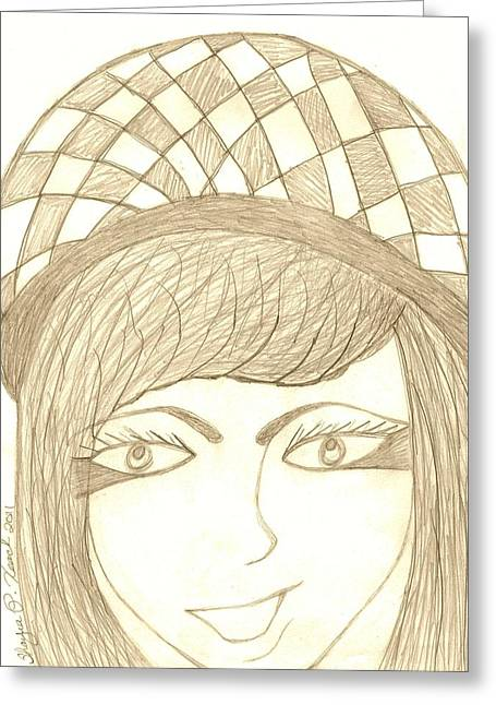 Jezebel   Greeting Card by Shayna  Keach