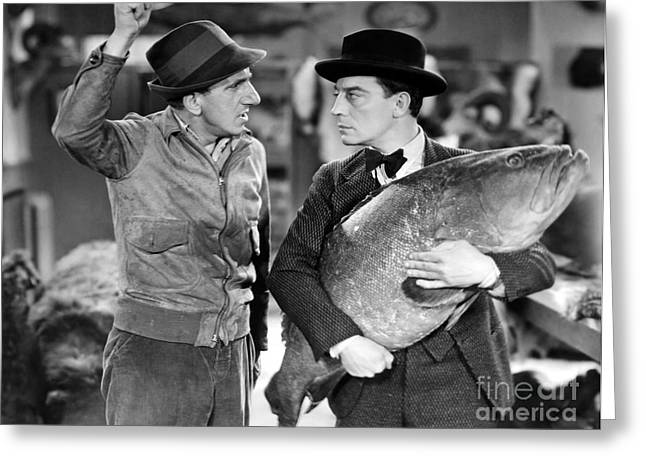 1933 Movies Greeting Cards - Jimmy Durante (1893-1980) Greeting Card by Granger
