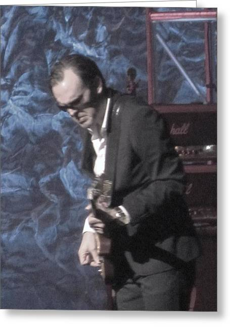 Todd Sherlock Greeting Cards - Joe Bonamassa Greeting Card by Todd Sherlock