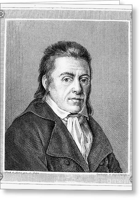 Johann Pestalozzi Greeting Card by Granger