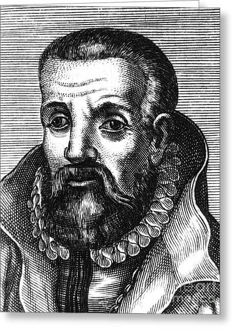 1574 Greeting Cards - Johann Winter Von Andernach, German Greeting Card by Science Source
