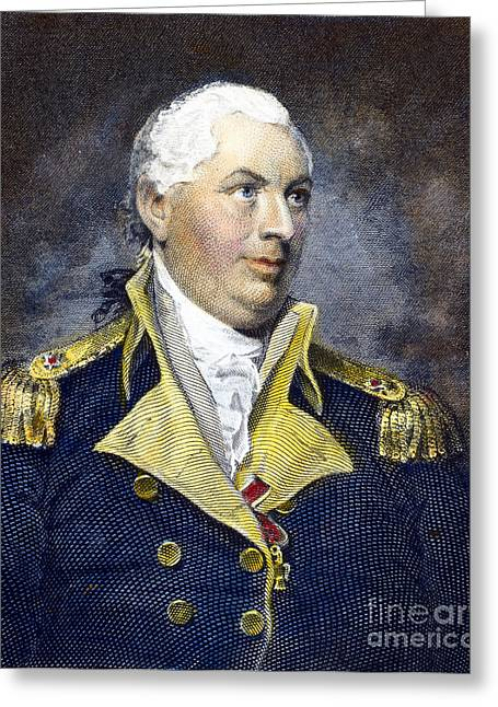 Lapel Greeting Cards - John Barry (1745-1803) Greeting Card by Granger