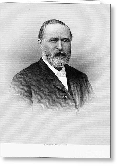 Autograph Greeting Cards - John Batterson Stetson Greeting Card by Granger
