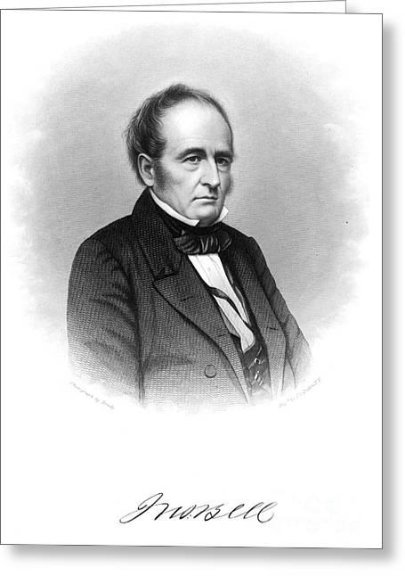 Statesman Greeting Cards - John Bell (1797-1869) Greeting Card by Granger