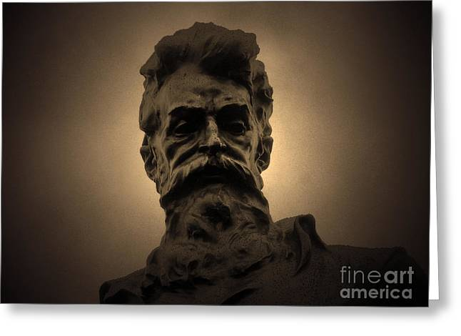 Liberation Greeting Cards - John Brown Greeting Card by C E Dyer