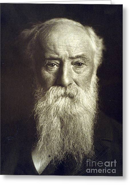 Conservationist Greeting Cards - John Burroughs, American Naturalist Greeting Card by Photo Researchers