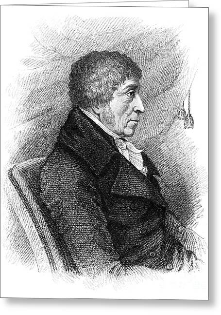 Sideburns Greeting Cards - John Cartwright (1740-1824) Greeting Card by Granger