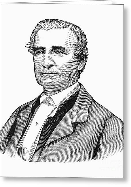 Abolition Greeting Cards - John Hunn (1818-1894) Greeting Card by Granger
