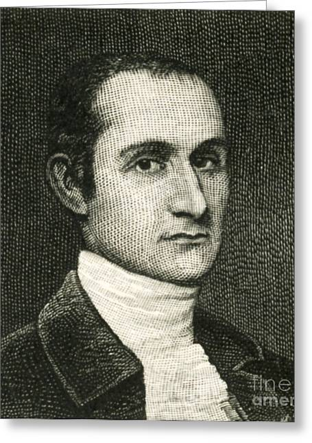 Opponent Greeting Cards - John Jay, American Founding Father Greeting Card by Photo Researchers