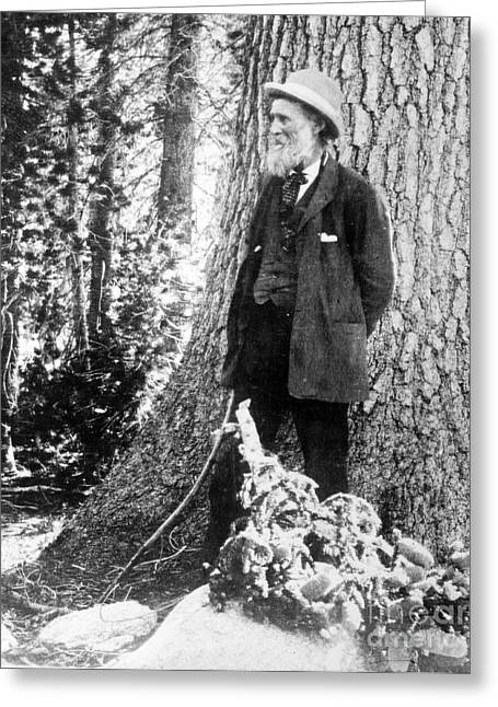 Conservationist Greeting Cards - John Muir, Scottish-american Naturalist Greeting Card by Photo Researchers