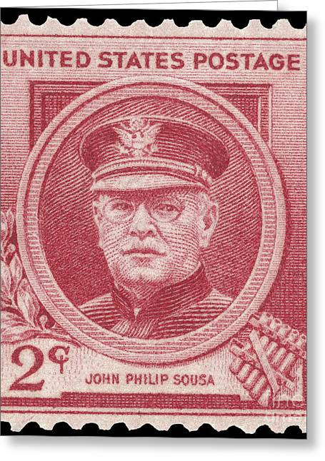 Bandleader Greeting Cards - John Philip Sousa (1854-1932) Greeting Card by Granger