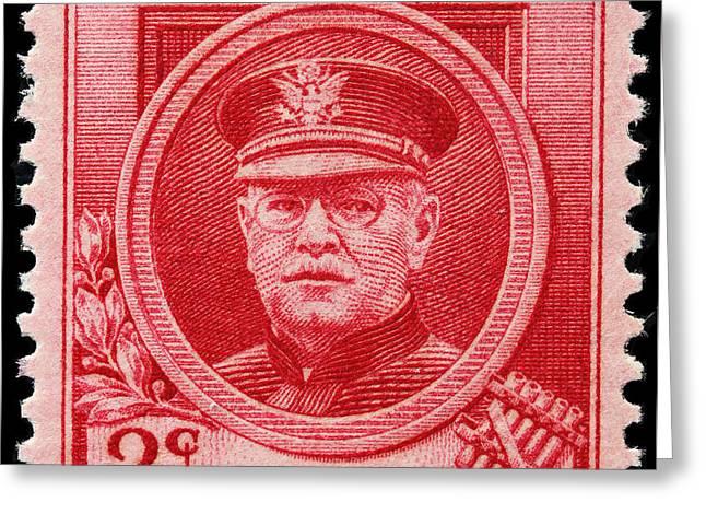 James Hill Greeting Cards - John Philip Sousa postage stamp Greeting Card by James Hill
