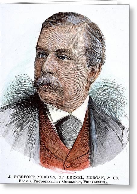 John Pierpont Morgan (1837-1913) Greeting Card by Granger