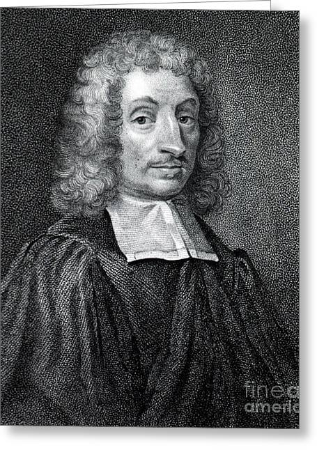 Wray Greeting Cards - John Ray, Father Of English Natural Greeting Card by Science Source