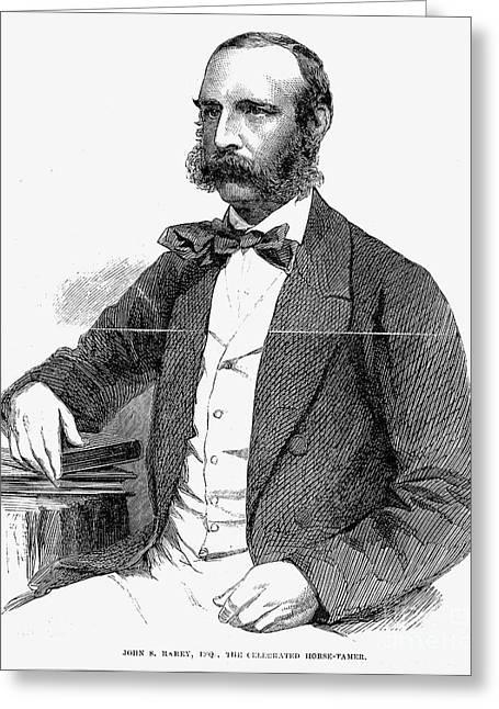 John S. Rarey (1828-1866) Greeting Card by Granger