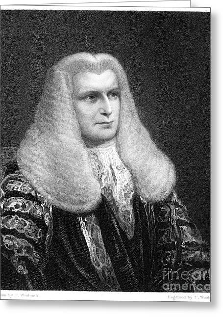 John Singleton Copley Greeting Card by Granger