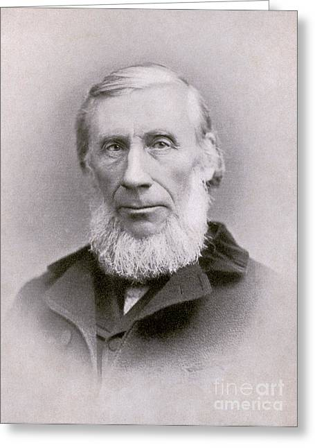 Overdose Greeting Cards - John Tyndall, Irish Physicist Greeting Card by Photo Researchers