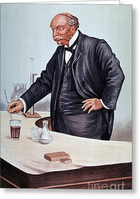 Vanity Fair Greeting Cards - John William Strutt, English Physicist Greeting Card by Science Source