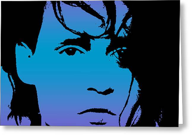 Johnny as Edward Greeting Card by Jera Sky