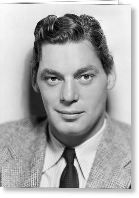 1936 Movies Greeting Cards - Johnny Weissmuller Greeting Card by Granger