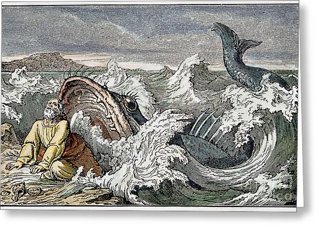 Jonah Photographs Greeting Cards - Jonah Greeting Card by Granger