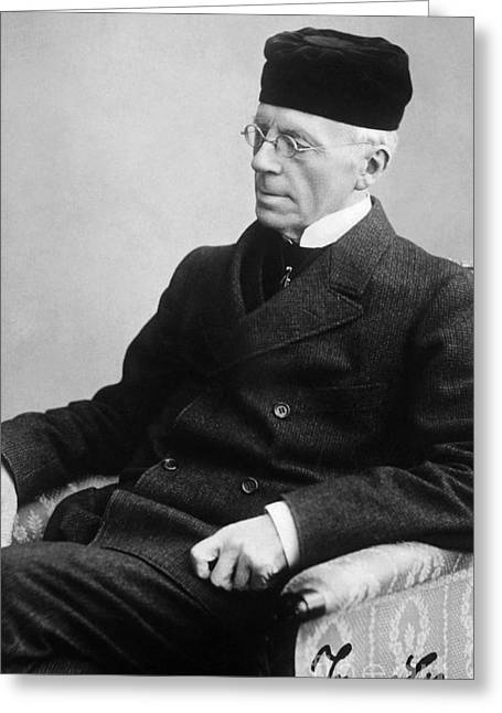 Jonas Lie (1833-1909) Greeting Card by Granger