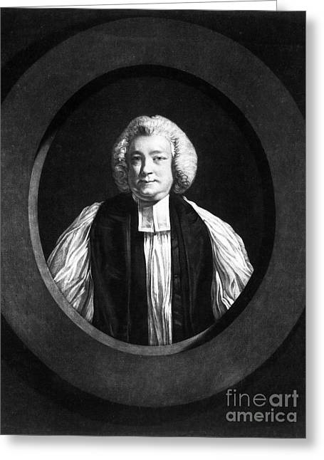 Clergyman Greeting Cards - Jonathan Shipley (1714-1788) Greeting Card by Granger