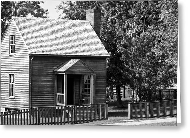 Jones Law Office Appomattox Virginia Greeting Card by Teresa Mucha