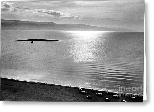 JORDAN: DEAD SEA, 1961 Greeting Card by Granger