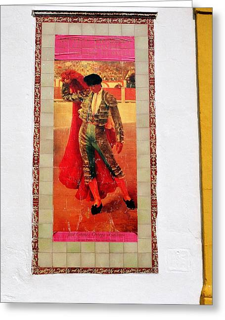 Gomez Greeting Cards - Jose Gomez Ortega Greeting Card by Juergen Weiss