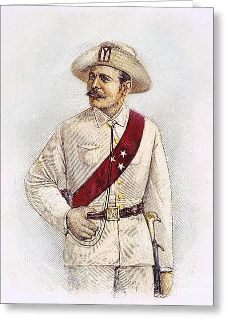 Nadal Greeting Cards - Jose Maceo (1846-1896) Greeting Card by Granger