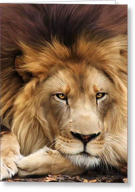 Big Cat Rescue Greeting Cards - Joseph Greeting Card by Big Cat Rescue