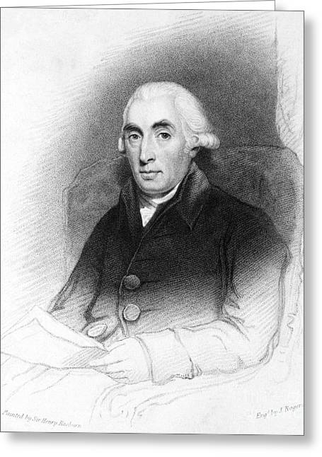Carbon Dioxide Greeting Cards - Joseph Black, Scottish Physician Greeting Card by Science Source