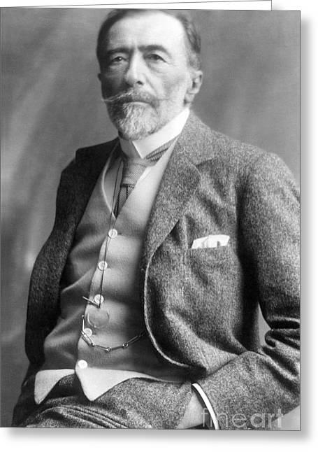 Neckties Greeting Cards - Joseph Conrad (1857-1924) Greeting Card by Granger