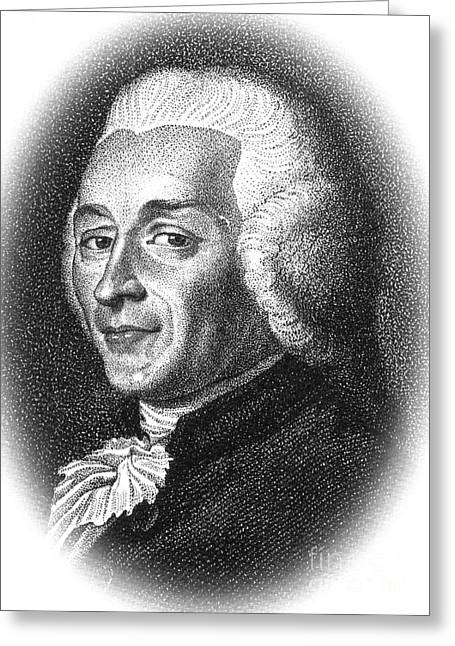 Opposing Greeting Cards - Joseph-ignace Guillotin, French Greeting Card by Science Source