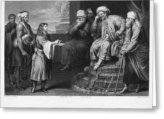 Joseph Interpreting Dream Greeting Card by Granger