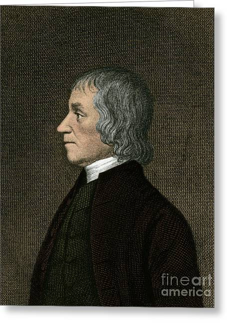 Educators Greeting Cards - Joseph Priestley, English Chemist Greeting Card by Science Source