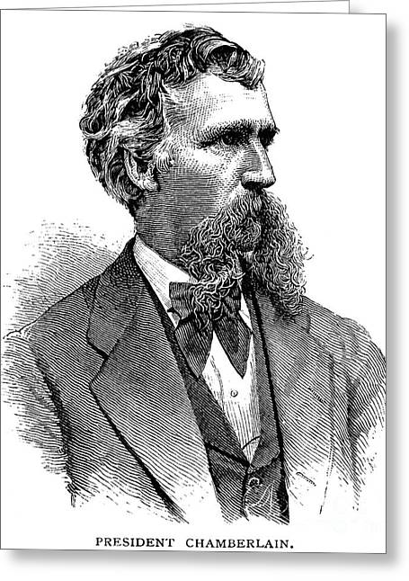 Bowtie Greeting Cards - Joshua Chamberlain Greeting Card by Granger