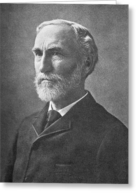 Surname G Greeting Cards - Josiah Willard Gibbs, Us Mathematician Greeting Card by Science, Industry & Business Librarynew York Public Library