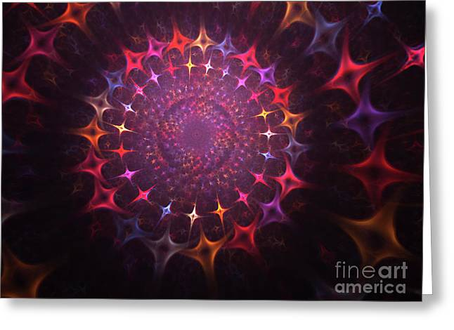 Souls Greeting Cards - Journey of the souls Greeting Card by Stefan Kuhn