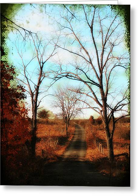Journey To The Past Greeting Card by Bill Cannon