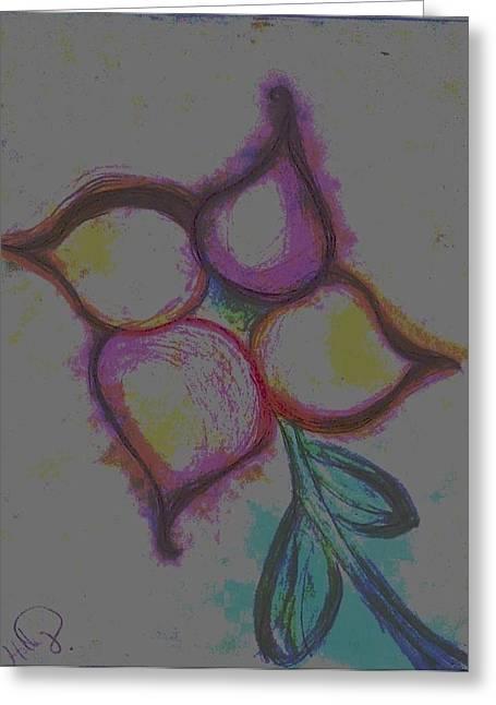 Triumphs Pastels Greeting Cards - Joy Greeting Card by Holly  Varner