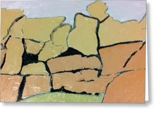 Jt Rocks Greeting Card by Frederick Fulmer