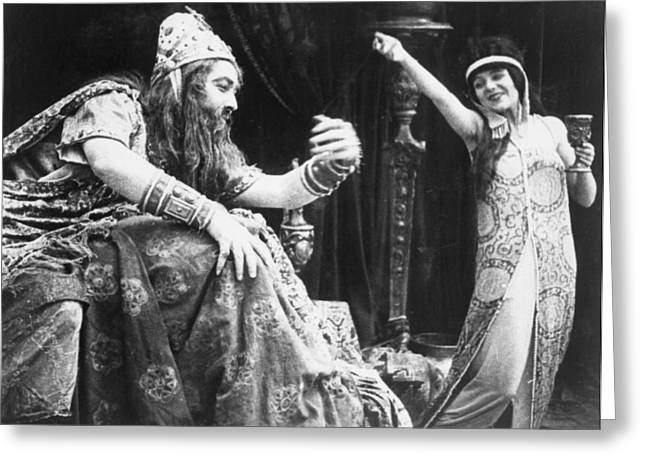 Wark Photographs Greeting Cards - Judith Of Bethulia 1913-14 Greeting Card by Granger