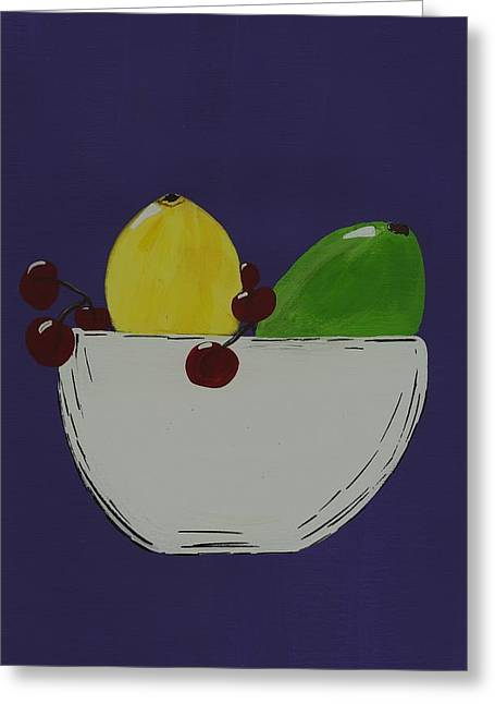 Party Invite Greeting Cards - Juicy Fruit Greeting Card by Katie Slaby
