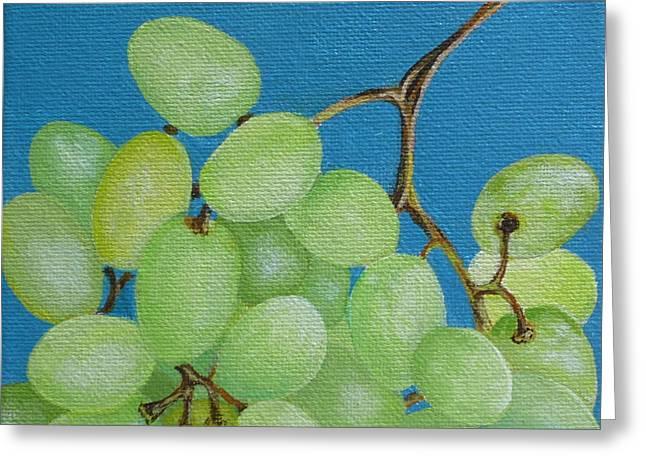 Juicy Grapes Greeting Card by Tammy Watt
