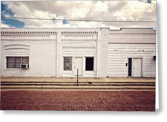 Lubbock Greeting Cards - Julias Cake Place in Slaton Texas Greeting Card by Ilker Goksen
