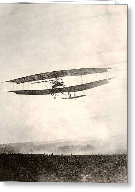 History Of Flying Greeting Cards - June Bug Aeroplane, 1908 Greeting Card by Miriam And Ira D. Wallach Division Of Art, Prints And Photographsnew York Public Library