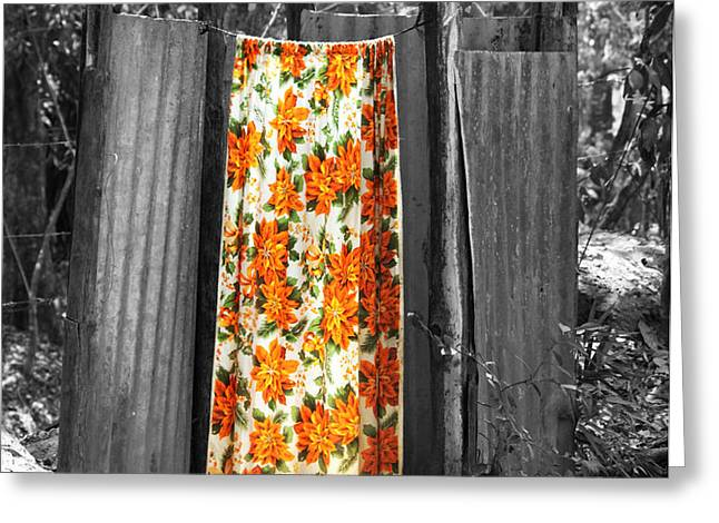 Jungle Shower Greeting Card by RC Photography